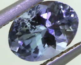 0.95 CTS TANZANITE  FACETED   CG -3128
