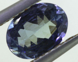 0.95 CTS TANZANITE  FACETED   CG -3130