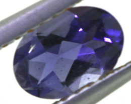 0.55 CTS TANZANITE  FACETED   CG -3138