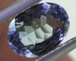 0.95 CTS TANZANITE  FACETED   CG -3132