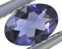 0.65 CTS TANZANITE  FACETED   CG -3141