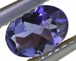 0.55 CTS TANZANITE  FACETED   CG -3143
