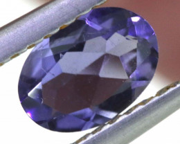 0.50 CTS TANZANITE  FACETED   CG -3146