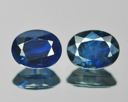 1.27 Cts Amazing Rare Natural Fancy Blue Sapphire Loose Gemstone
