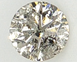 0.11 CTS ,  Salt And Pepper Diamonds ,  Greyish Diamond , WR1312