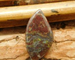 Stone dragon bloodstone cabochon (G2047)
