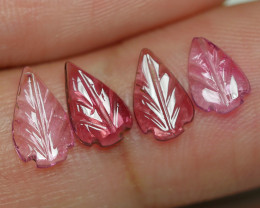 1.780 CRT CARVING LEAF TOURMALIN PARCELS-