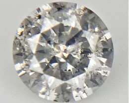 0.08 CTS , Natural Light Colored Diamond , Diamond For Jewelry
