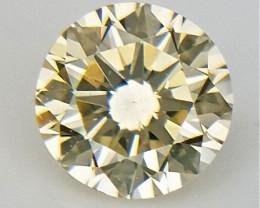0.11 CT  ,  Diamond , Rare Yellow Gemstone ,  Setting stone , WR1321