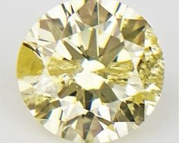 0.11 CTS , Light Diamond , Natural Color Diamond , WR1324