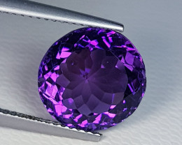 6.08 ct  Top Quality Gem  Round Mix Cut Natural Purple Amethyst