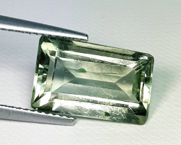 7.69 ct Top Quality Awesome Rectagle Cut Natural Green Amethyst