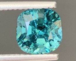 2.05 Carats Natural Indicolite Tourmaline Gemstone