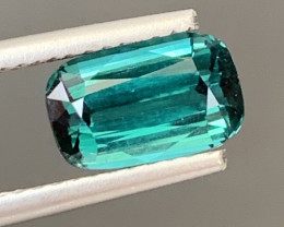1.75 Carats Natural Indicolite Tourmaline Gemstone
