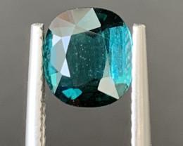 1.20 Carats Natural Indicolite Tourmaline Gemstone