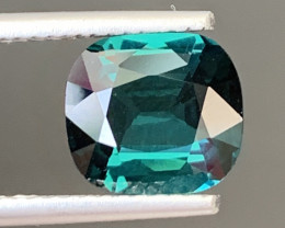 2.07 Carats Natural Indicolite Tourmaline Gemstone
