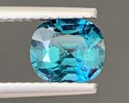 1.25 Carats Natural Indicolite Tourmaline Gemstone