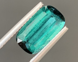 2.35 Carats Natural Indicolite Tourmaline Gemstone