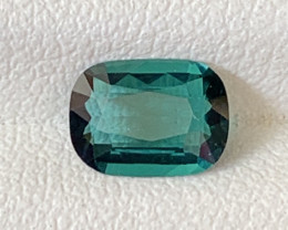 1 Carats Natural Indicolite Tourmaline Gemstone
