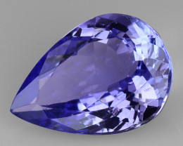 3.19 CT AA TANZANITE HIGH QUALITY GEMSTONE TZ75