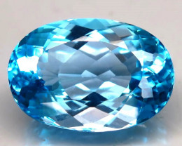 25.68 ct. 100% Natural Earth Mined Top Quality Blue Topaz Brazil