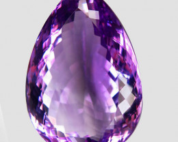 55.96 ct. 100% Natural Top Nice Purple Amethyst Unheated Brazil