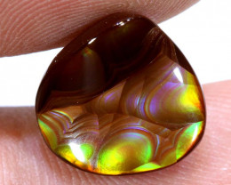 Mexican Fire Agate Stone Polished 5cts D-57