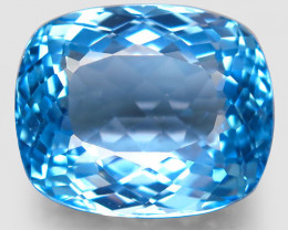 33.65 ct. 100% Natural Earth Mined Top Quality Blue Topaz Brazil