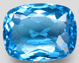33.57 ct. 100% Natural Earth Mined Top Quality Blue Topaz Brazil