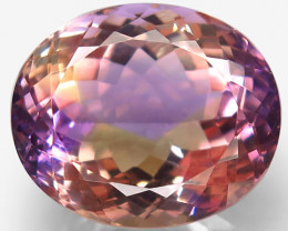 19.93 Ct. 100% Natural Earth Mined Top Quality Ametrine Bolivia Unheated