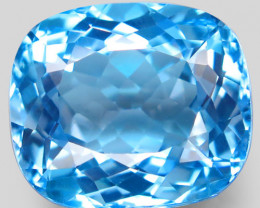 34.60 ct.100% Natural Earth Mined Top Quality Blue Topaz Brazil