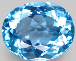 34.44 ct.100% Natural Earth Mined Top Quality Blue Topaz Brazil