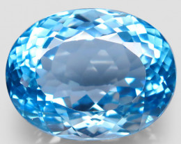 43.31 ct.100% Natural Earth Mined Top Quality Blue Topaz Brazil