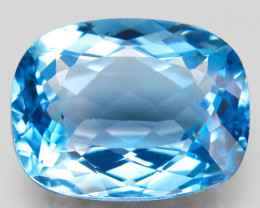 32.75 ct.100% Natural Earth Mined Top Quality Blue Topaz Brazil