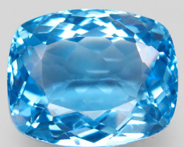 39.40 ct.100% Natural Earth Mined Top Quality Blue Topaz Brazil