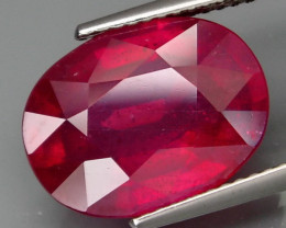 9.30  Cts . Top Quality Natural Ruby Winza Tanzania Gem