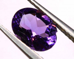 0.90  CTS AMETHYST FACETED STONE CG -  86