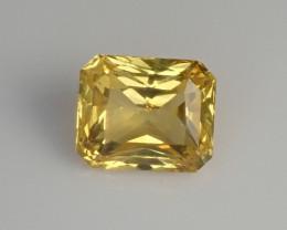 1.21ct Yellow Sapphire