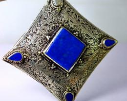 270.80 Cts Unheated & Natural ~Blue Lapis Lazuli Pendant
