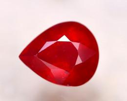 Ruby 6.23Ct Madagascar Blood Red Ruby E2726/A20