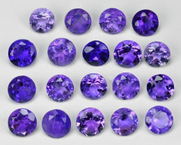 2.01 Cts 19 Pcs Amazing Rare Natural Purple Amethyst Loose Gemstone