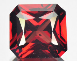 ~RADIANT~ 3.57 Cts Natural Vivid Red Rhodolite Garnet Octagon Cut Mozambiqu