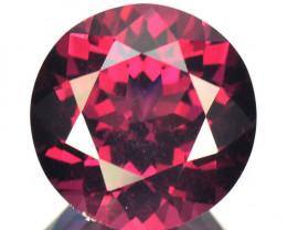~PRETTY~ 6.95 Cts Natural Sparkling Pink Rhodolite Garnet Round Cut Mozambi