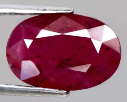 Natural Untreated Ruby - 3.47 ct