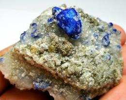 Amazing Natural color Damage free Lapis Lazuli Specimen 535Cts-A