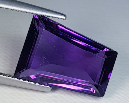 5.83 ct  Top Quality Gem FancyCut Natural Purple Amethyst