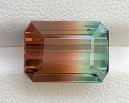 11.10 Carats Natural Bi Color Tourmaline Gemstone