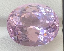 34.80 Carats Kunzite Gemstone