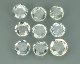 1.25 CTS BEAUTIFUL NATURAL RARE PURE-WHITE-PRECIOUS-SAPPHIRE NR!!