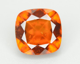 Natural 3.95 Ct Cushion Cut Hessonite Garnet Gemstone